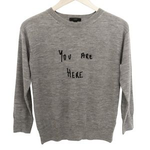 J.Crew Sweater Merino wool crewneck Size XXS